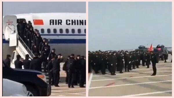 重庆大批警察支援武汉 引发网络热议(视频)