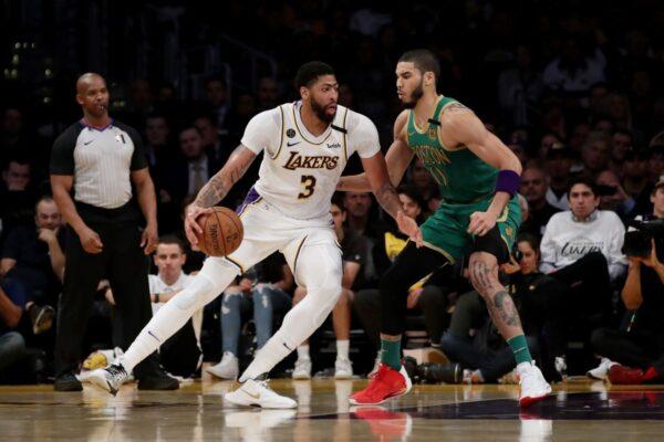 NBA:湖人險勝綠軍 獲五連勝 繼續補強