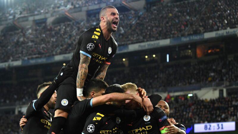 歐冠16強賽:曼城逆轉皇馬 尤文不敵里昂