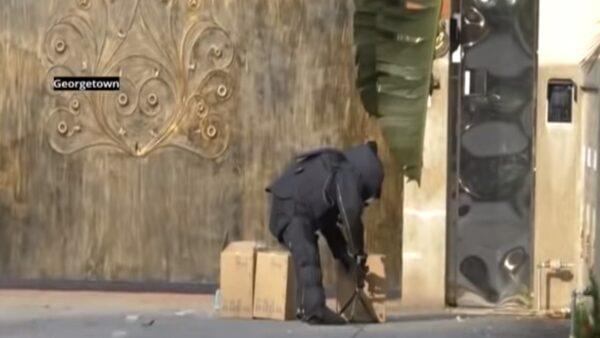 收到可疑紙箱 中駐馬國領事館急報警 引爆後竟是口罩(視頻)