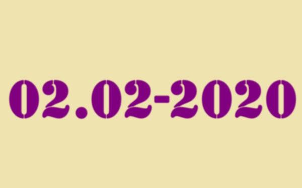 逾900年来首遇:世界罕见回文日02022020