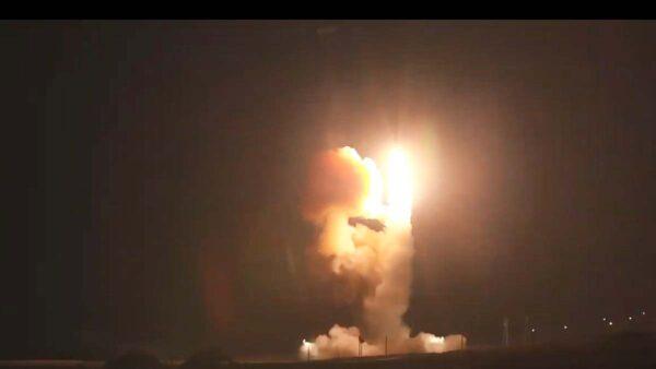 横越6700公里 美新载具试射义勇兵三型飞弹