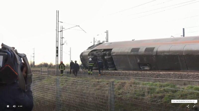 意大利高速列車出軌 釀2死30傷(視頻)