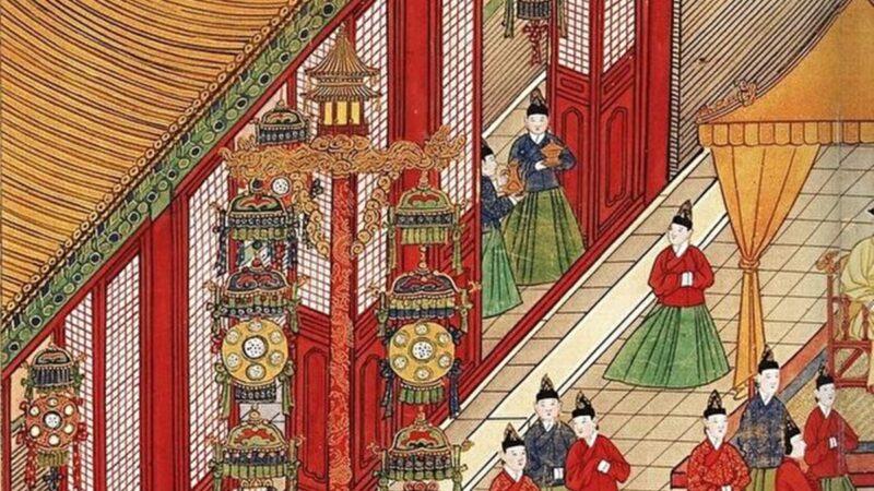 詩畫說元宵花燈歷史 法輪天上轉花焰萬枝開