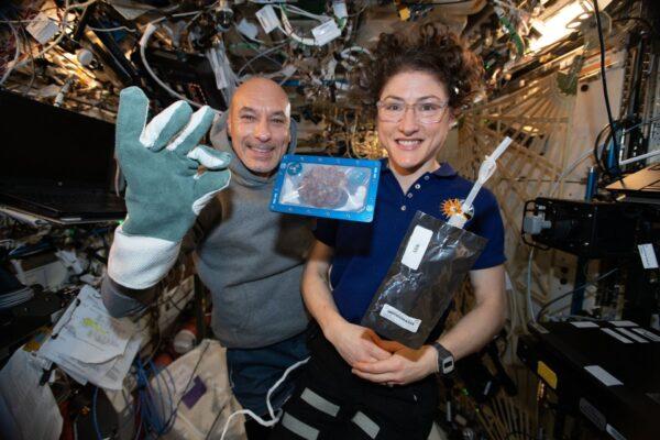 ISS成功烤制曲奇饼 比在地面需多用两小时