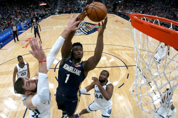 NBA威廉森生涯新高32分 缔造多项纪录