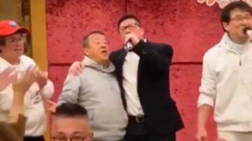 """邓炳强拍艺人马屁 称做警察""""是学成龙""""(视频)"""