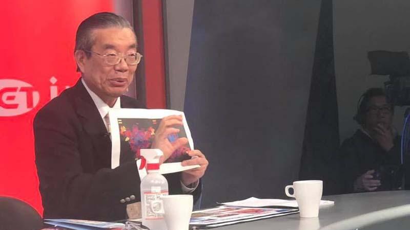 台灣前衛生副署長:武漢肺炎疑為加工病毒
