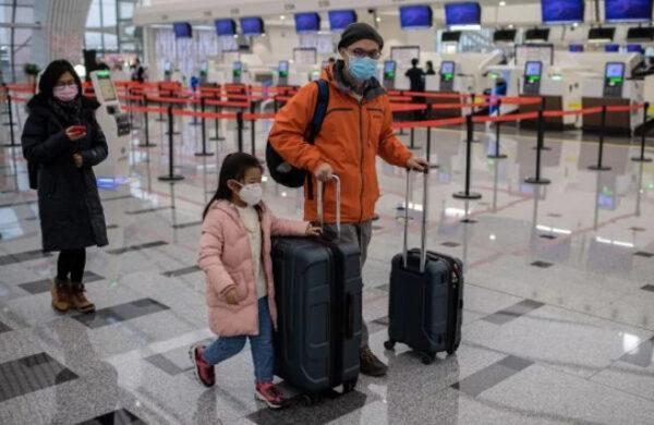 武漢肺炎:華女與英夫婿40小時大逃亡 (圖)