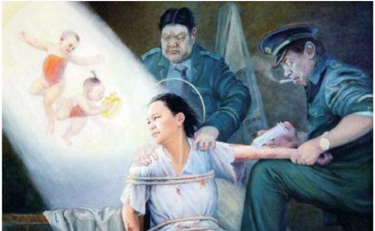 黑龙江女监给法轮功学员李英菊饭菜下毒