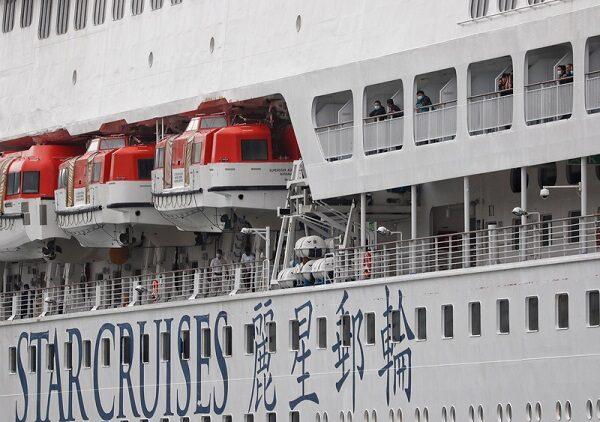 武汉肺炎 陈时中率队登宝瓶星号检疫 中国籍船员237人