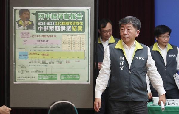 孙女探病5分钟染武汉肺炎 台指挥中心公布可能原因