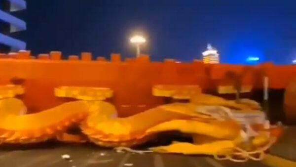 中国怪事频发:巨龙突坠地!武汉雷声震天(视频)