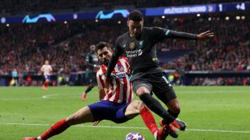 欧冠16强淘汰赛首回合 利物浦大巴黎输球