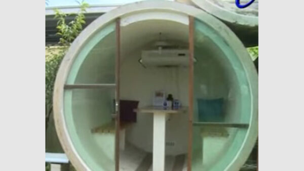 世界上最寒酸的酒店: 客人只能睡水泥管 一晚卻要358元