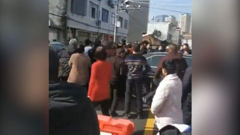 溫州封城太突然居民憤怒 爆發多起警民衝突(視頻)