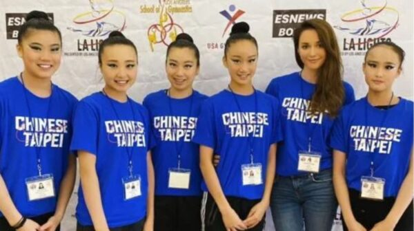 台湾媳妇瑞莎率体操队赴美 获一金三铜佳绩