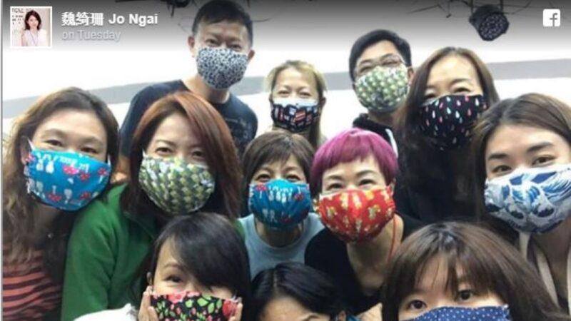 自製布口罩送醫護 魏綺珊:康復香港時代抗疫