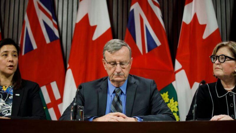 加拿大最早兩感染病人出院 身體仍攜帶病毒