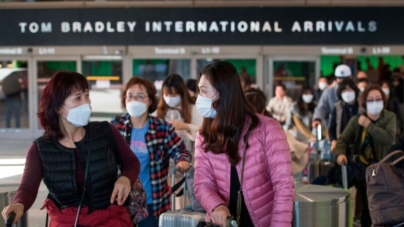 到武漢旅行去過上海 舊金山灣區出現第一例確診病例