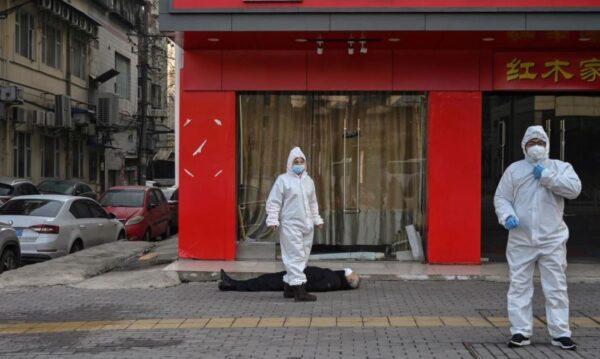 武汉一社区疫情通报曝光:确诊疑似13人 过半死亡