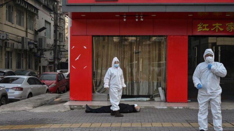 武漢一社區疫情通報曝光:確診疑似13人 過半死亡