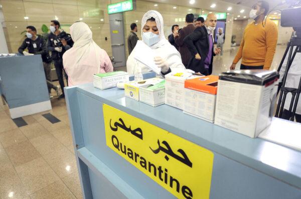 埃及出現非洲首例病例 帶武漢病毒卻無症狀