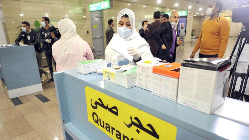 埃及出现非洲首例病例 带武汉病毒却无症状