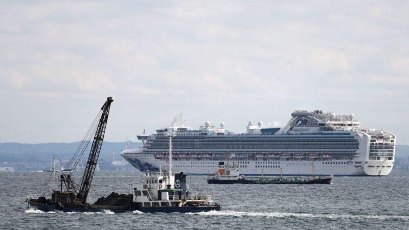 载3711人游轮日本外海隔离 至少10人感染武汉肺炎