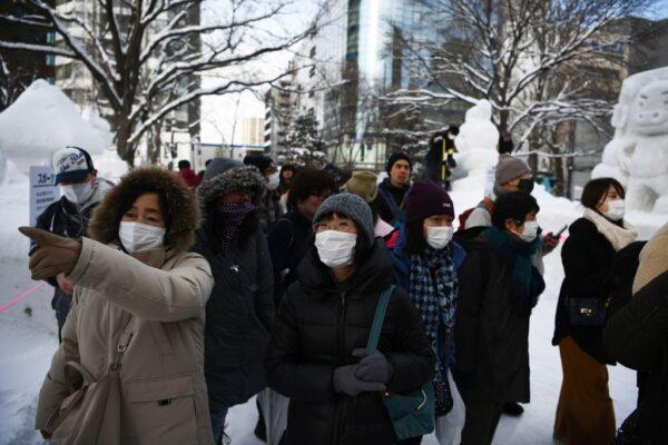 日本疫情扩大 北海道确诊第18例 名古屋关6收费站