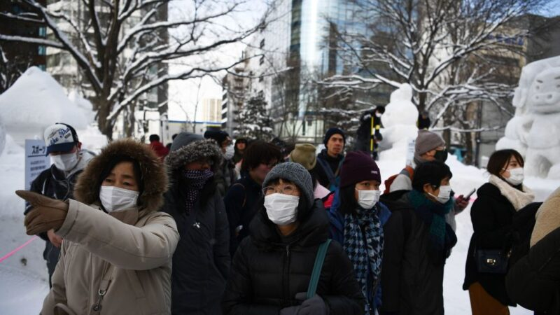 日本疫情擴大 北海道確診第18例 名古屋關6收費站