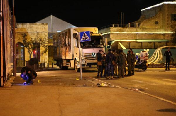 疑巴勒斯坦人汽車衝撞攻擊 耶路撒冷釀14傷