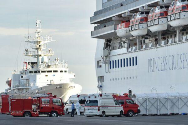 武汉肺炎 钻石公主号再验出3例 全船64人感染