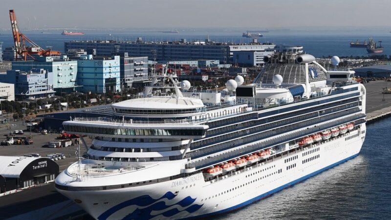 鑽石公主號新增約60例 將退還旅客所有費用