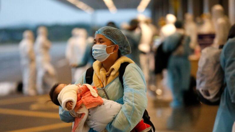 武汉肺炎 越南首例境内婴儿感染