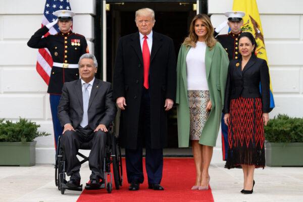 20年來首度 厄瓜多元首在華盛頓與美國總統會面