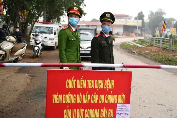 越南封村 防武漢肺炎疫情擴散
