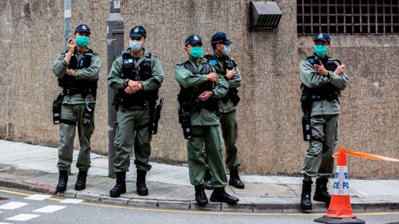 香港防暴警感染武汉肺炎 1人确诊59人隔离