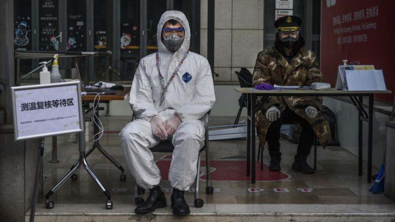 北京疫情危急 小汤山医院扩建24小时施工