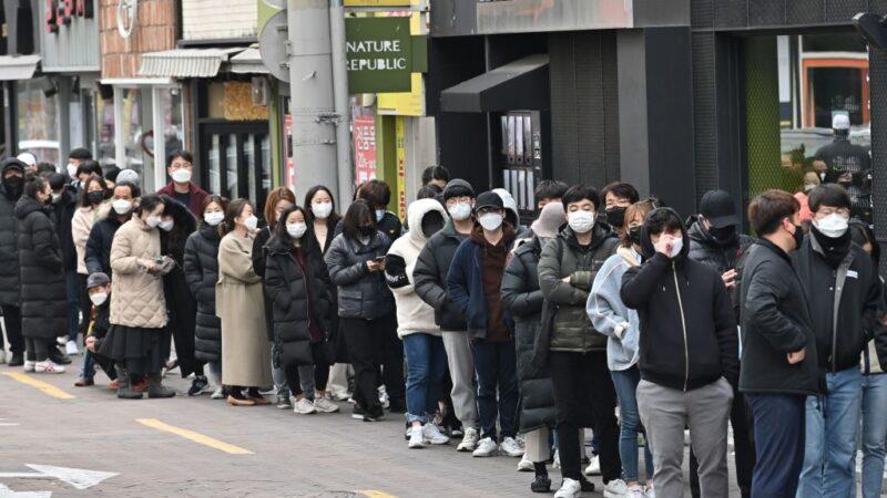 武漢肺炎 韓新增334起 韓美軍演延期