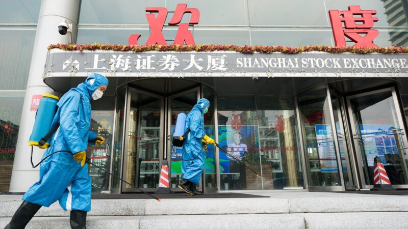 """中国超30地封城 上海被""""武汉肺炎""""包围"""