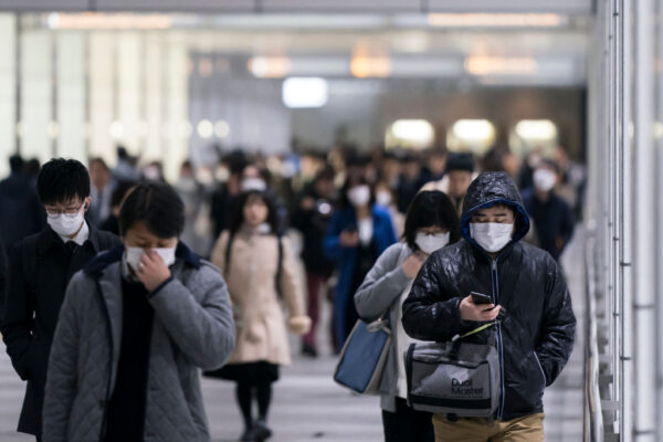 武漢肺炎在日延燒 東京新增5例 台父子船上相繼染病