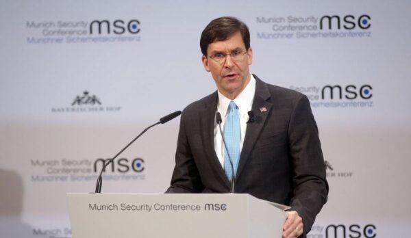 美国作战部队接行政令 启动全球防疫计划