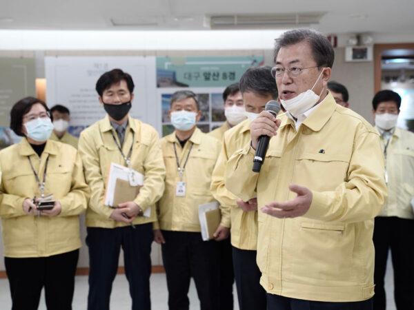 韓確診累計5186例死亡31人 文在寅:進入抗疫戰爭