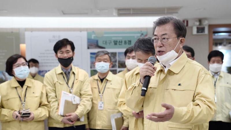 韩确诊累计5186例死亡31人 文在寅:进入抗疫战争