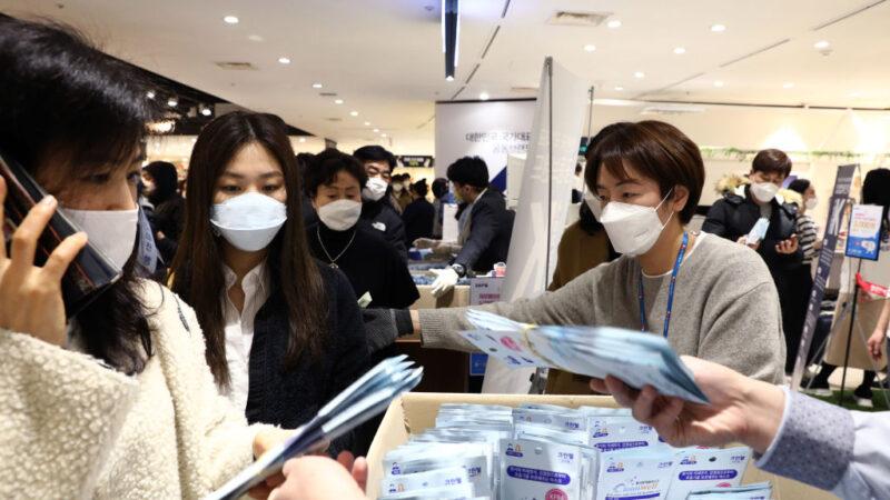 再創新高!韓國武漢肺炎單日暴漲571例 全國病例破二千