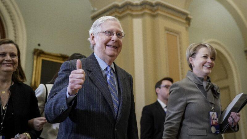 参院举行终结辩论 川普弹劾案进入倒计时