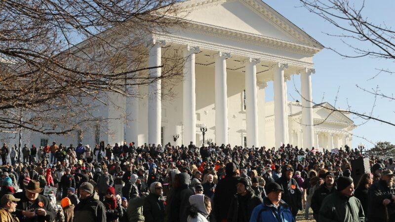 州民主党议员参与反对 弗吉尼亚控枪禁令失败