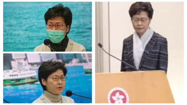 网传林郑做淋巴癌手术 神情憔悴着装异常
