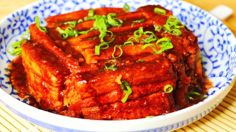 【美食天堂】香芋扣肉食谱 ~入口即化!家常料理食谱 一学就会